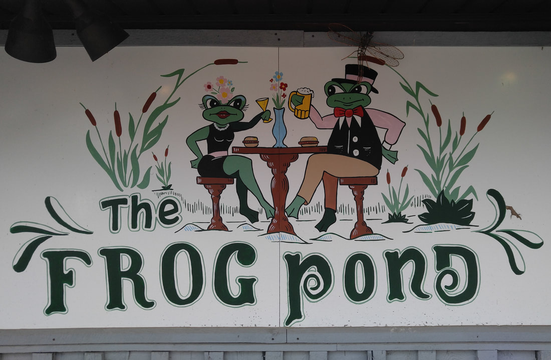 Frog Pond Restaurant and Activities #pedalboats #food #traveltips