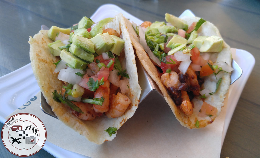 Shrimp Tacos in Piedras Negras; food porn, taco Tuesday, yummy food, food blog, travel blog