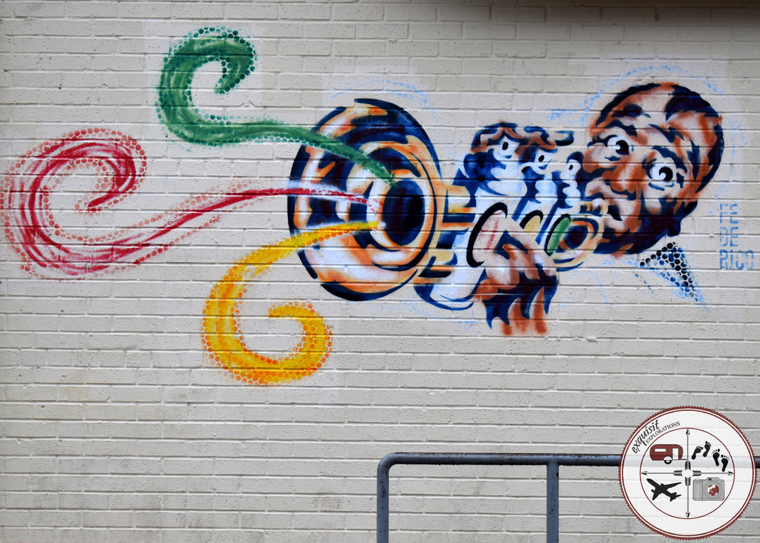 Austin, TX; Street Art Around the World; Colorful Murals; Louis Armstrong