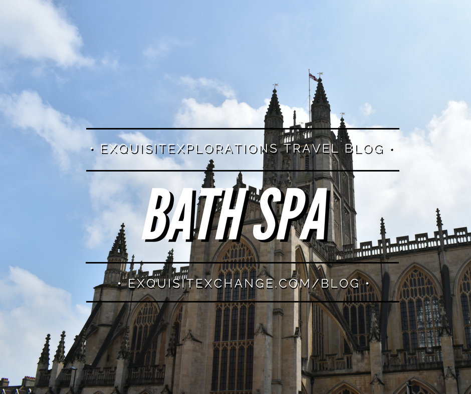 Four Easy Day Trips from London; Bath Spa, home of Roman baths, is a short train ride from London; travel tips by exquisitEXPLORAITONS Travel Blog