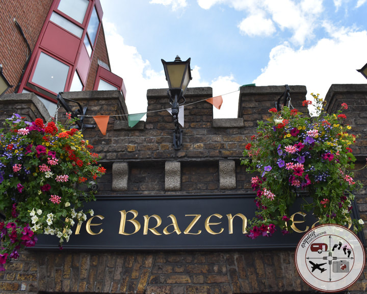 The Brazen Head, Dublin's Oldest Pub; exquisitEXPLORATIONS Travel Blog; Ireland Road Trip Itinerary; where to go in Ireland; places to go in Dublin