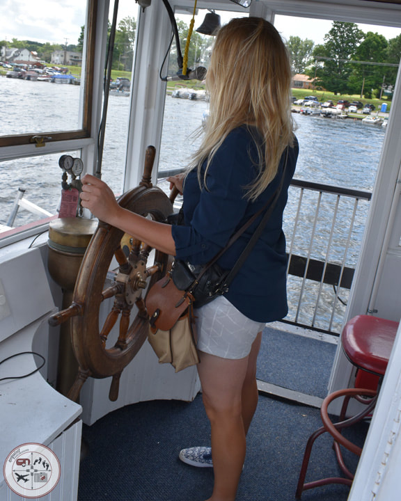 New Captain - Captain Carolyn #exquisitEXPLORATIONS #boattour #conneautlake #thingstodoinpa