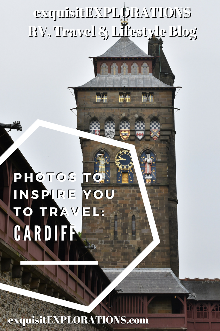 Photos to Inspire You to Travel to Cardiff, Wales; Cardiff Castle; Travel Tips; Travel Inspiration from exquisitEXPLORATIONS