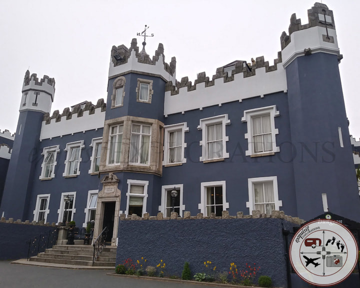 Fitzpatrick Castle Hotel, Dalkey Ireland; Travel Tips by exquisitEXPLORATIONS Travel Blog; Day Trips from Dublin