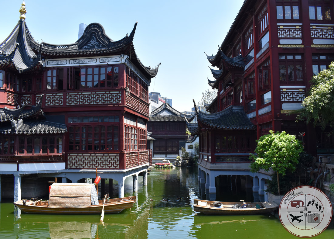 Old Town Architecture, Shanghai, China; Taken outside Yu Garden; Photos to Inspire Your Wanderlust