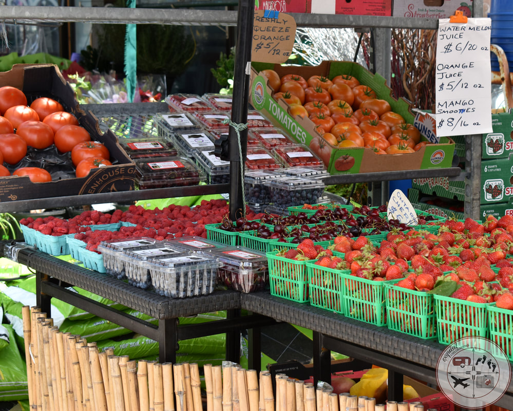 Produce Stand, Chinatown, Toronto #ontariocanada #thingstodo #cheapfood #cheapeats #goodeats #thingstodointoronto