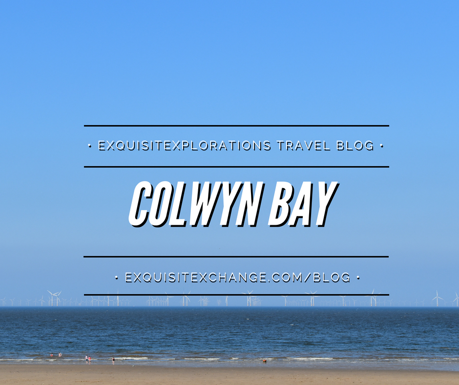 Colwyn Bay, on the Creuddyn Peninsula in Wales, an unassuming town full of pubs, restaurants, shops, and B&Bs; travel photos; travel tips
