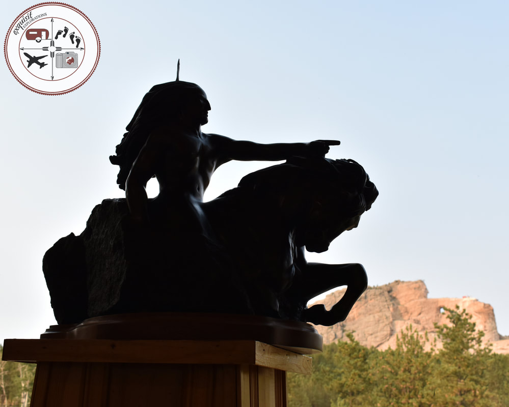 Sculpture of Crazy Horse, South Dakota Itinerary, Ultimate South Dakota Road Trip, Road Trip Through South Dakota, Travel, RV lifestyle, RV living, RVing
