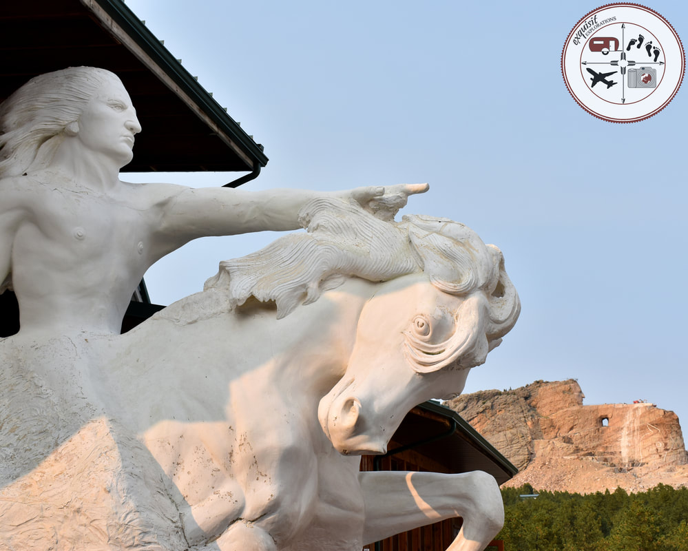 Model of Crazy Horse Monument, South Dakota Itinerary, Ultimate South Dakota Road Trip, Road Trip Through South Dakota, Travel, RV lifestyle, RV living, RVing