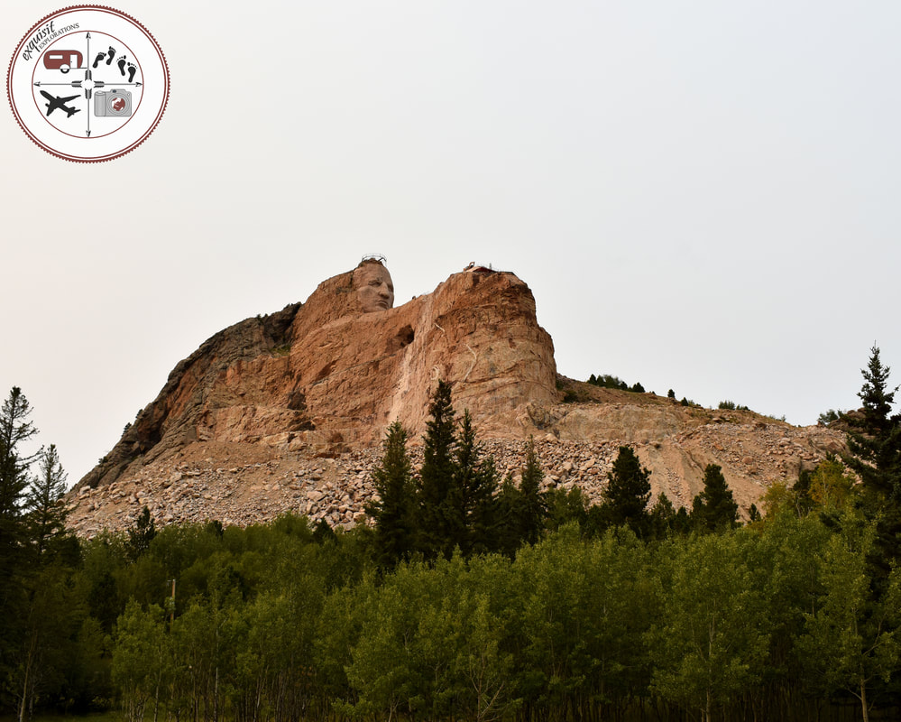 Crazy Horse in the Mountain, South Dakota Itinerary, Ultimate South Dakota Road Trip, Road Trip Through South Dakota, Travel, RV lifestyle, RV living, RVing