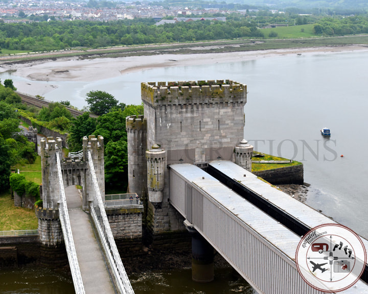 Conwy Suspension Bridge, Wales; travel tips, travel blog, travel photos, fuel your wanderlust