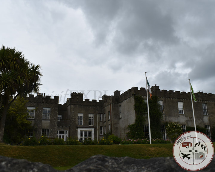 Ardgillan Castle, an easy day trip from Dublin; travel blog; travel photos