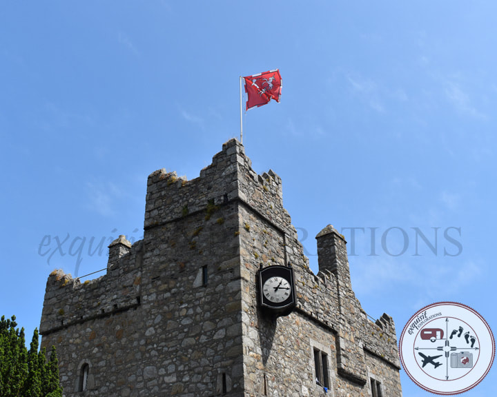 Dalkey Castle - Two Easy Day Trips from Dublin: Dalkey and Skerries - A Tale of Two Castles - Travel Tips by exquisitEXPLORATIONS Travel Blog