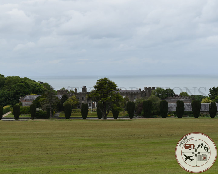 Ardgillan Castle; Two Easy Day Trips from Dublin: Dalkey and Skerries - A Tale of Two Castles - Travel Tips by exquisitEXPLORATIONS Travel Blog