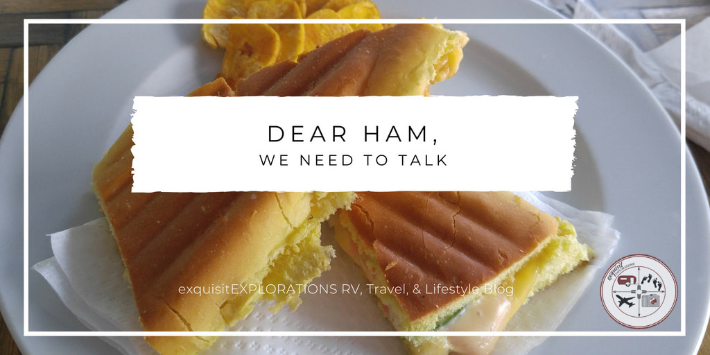 ham sandwich, food poisoning, havana cuba, exquisitEXPLORATIONS, ham and cheese, travel tips, travel blog