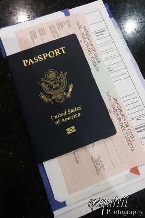 passport, visa, customs papers, cuba travel guide