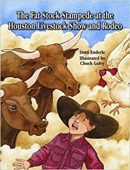 Houston for Book Lovers: Fat Stock Stampede at the Houston Livestock Show and Rodeo