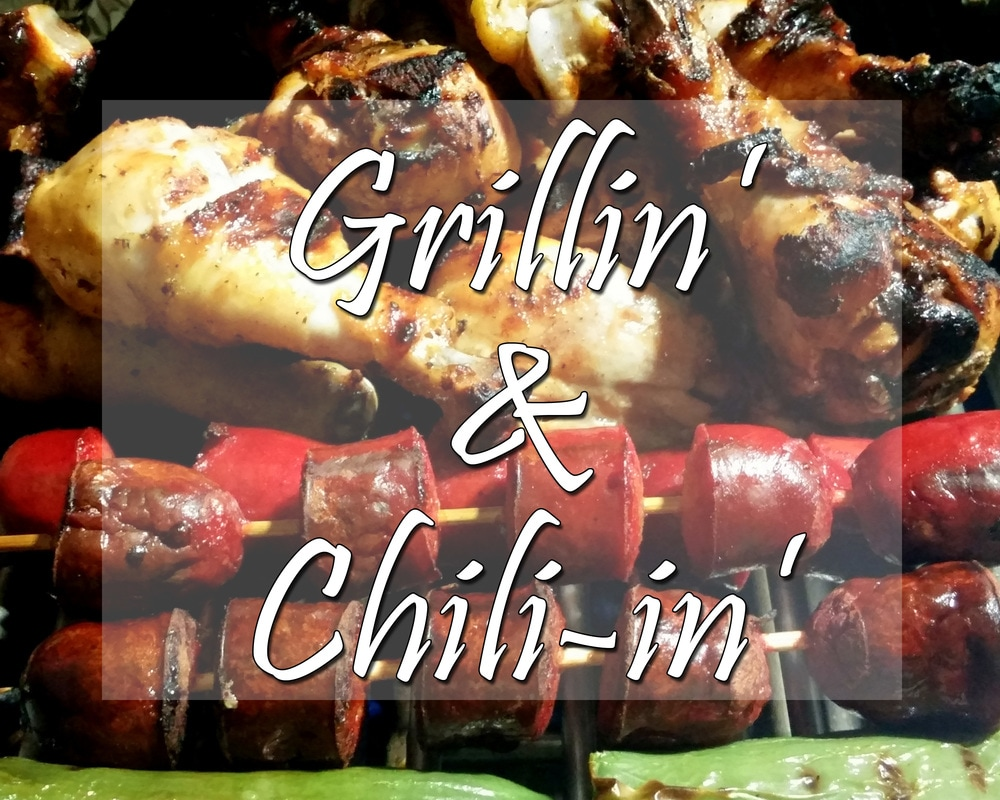 Grillin' and Chili-in' - Making new friends and eating good food on the road #rvliving #rvlifestyle #fulltimerving #travelblog
