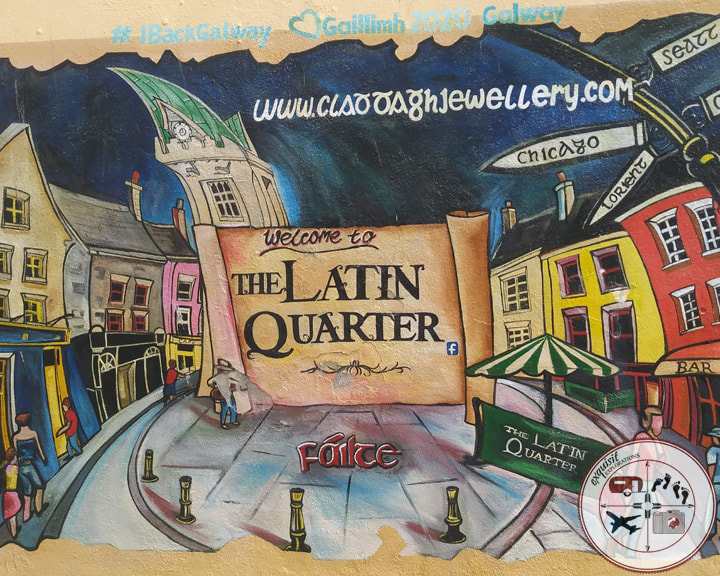 The Latin Quarter, Galway, where to go in Ireland; things to do in Galway; exquisitEXPLORATIONS Travel Blog