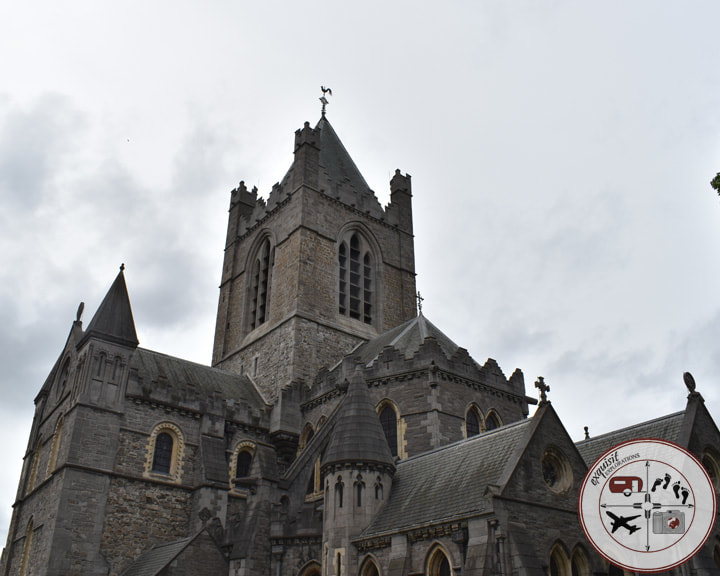 Christchurch Cathedral, Dublin; an Ireland road trip itinerary by exquisitEXPLORATIONS; places to go, things to do