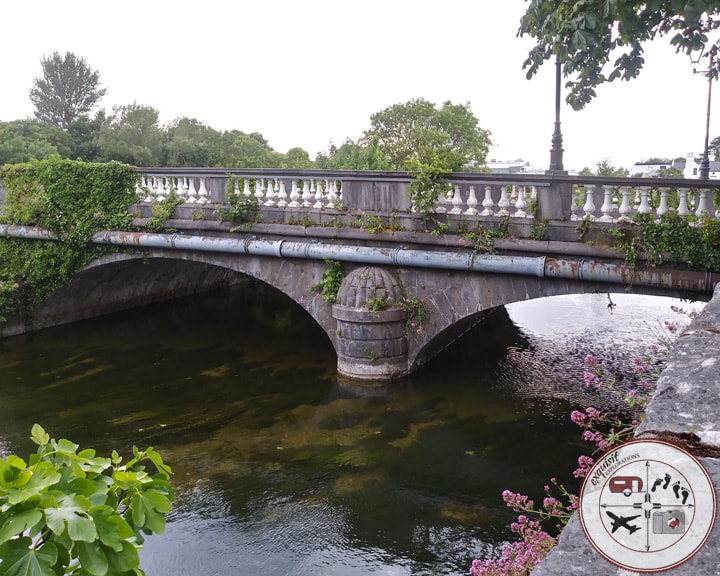 Salmon Weir Bridge, Galway, Ireland; travel tips for Ireland; sample Ireland road trip itinerary