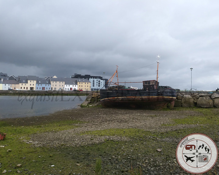 Claddagh Quay, Galway, Ireland; old ship, travel photo, things to do in Galway