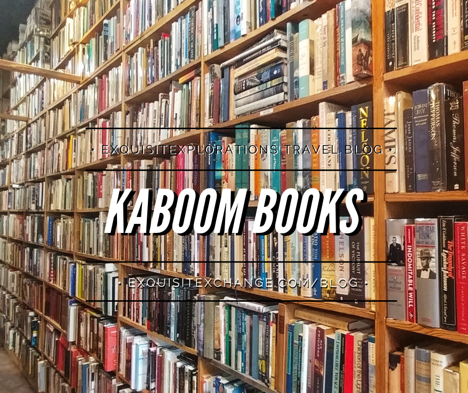 Houston for Book Lovers: Kaboom Books; Houston bookstores; exquisitEXPLORATIONS Travel Blog