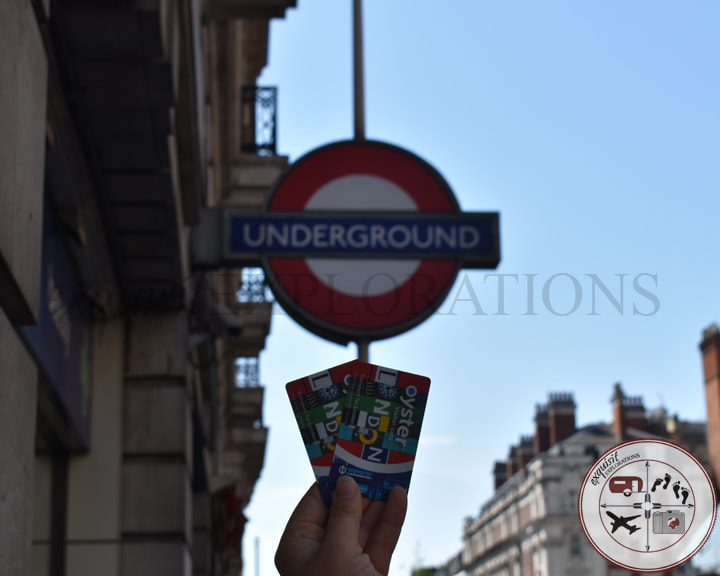 Use Oyster cards to navigate the London Underground. travel tips by exquisitEXPLORATIONS Travel Blog