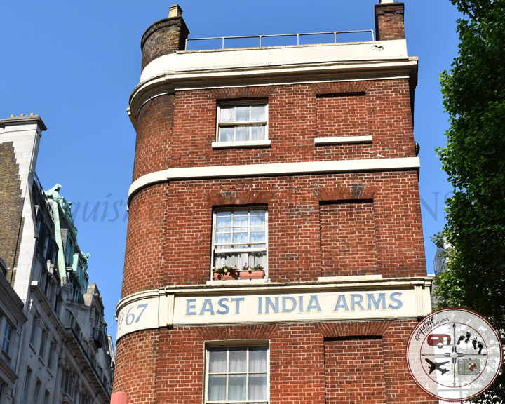 East India Arms Pub, London, UK; travel tips, things to do in London