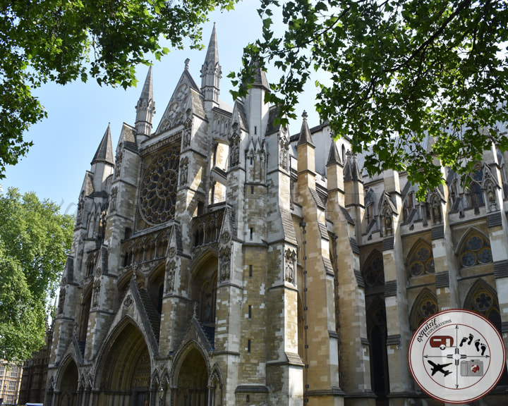 Westminster Abbey in London, UK; beautiful churches; travel tips by exquisitEXPLORATIONS Travel Blog