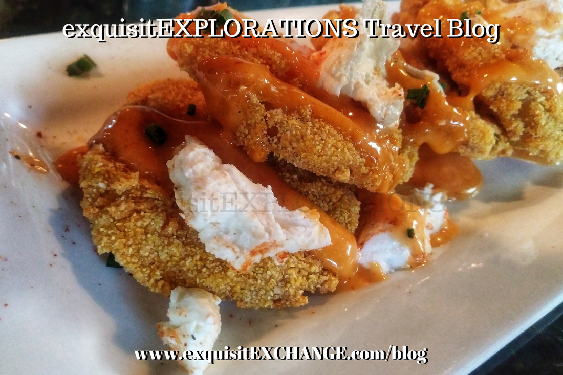 Around the World in 80 (Houston) Restaurants, exquisitEXPLORATIONS Travel Blog, Lucille's, Fried Green Tomatoes