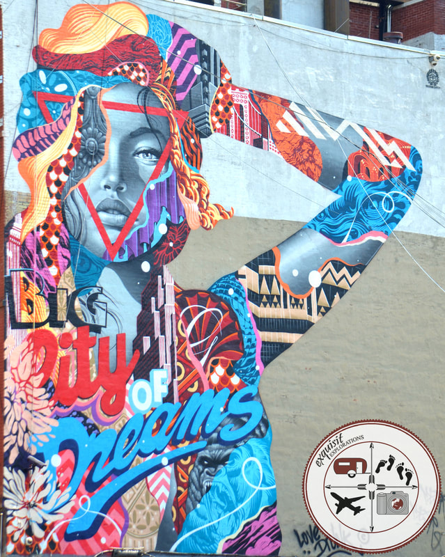 Big City of Dreams, Tristan Eaton, Street Art Around the World, Little Italy, New York, NY
