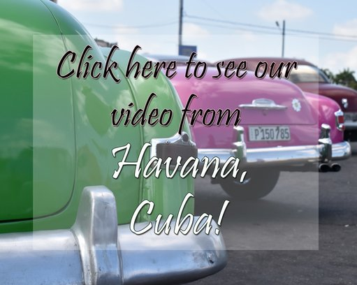 youtube video, video clip, havana cuba, travel videography