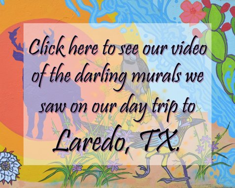 murals, video, youtube, artwork, laredo, texas, tx
