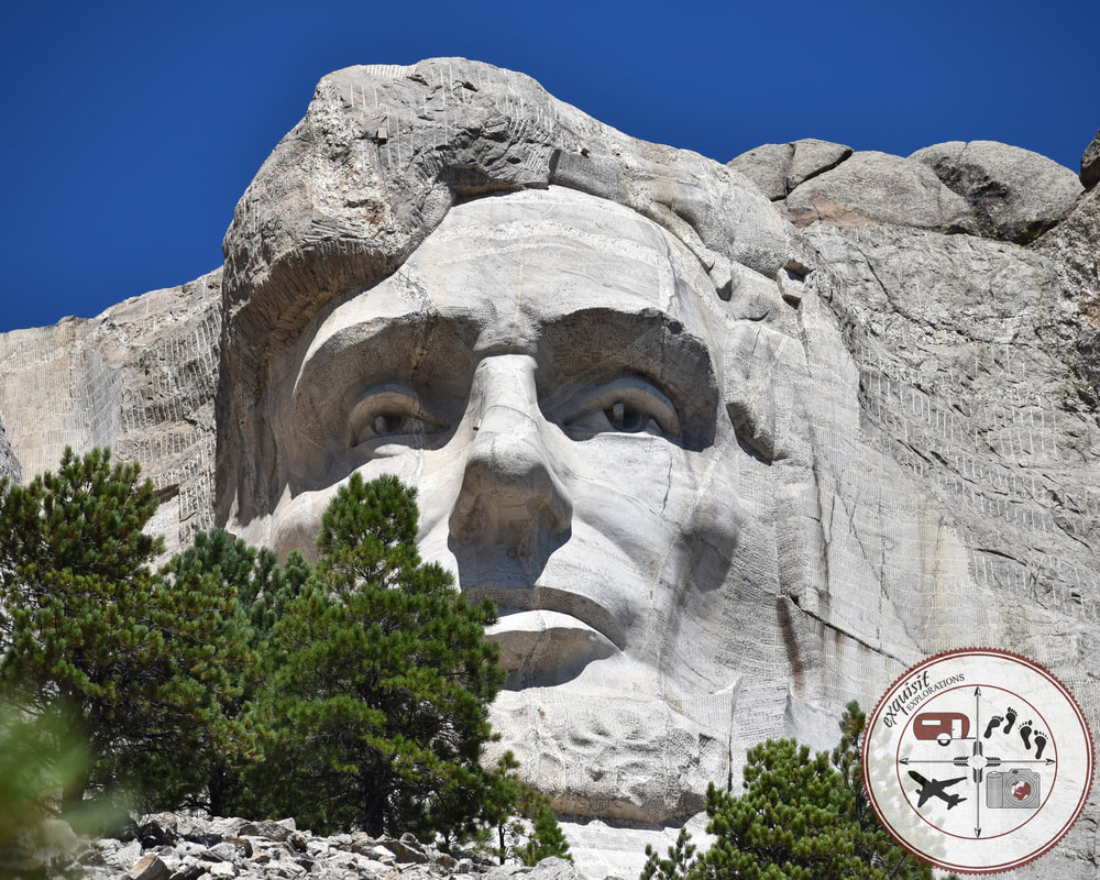 President Abraham Lincoln, South Dakota Itinerary, Ultimate South Dakota Road Trip, Road Trip Through South Dakota, Travel, RV lifestyle, RV living, RVing, Mount Rushmore