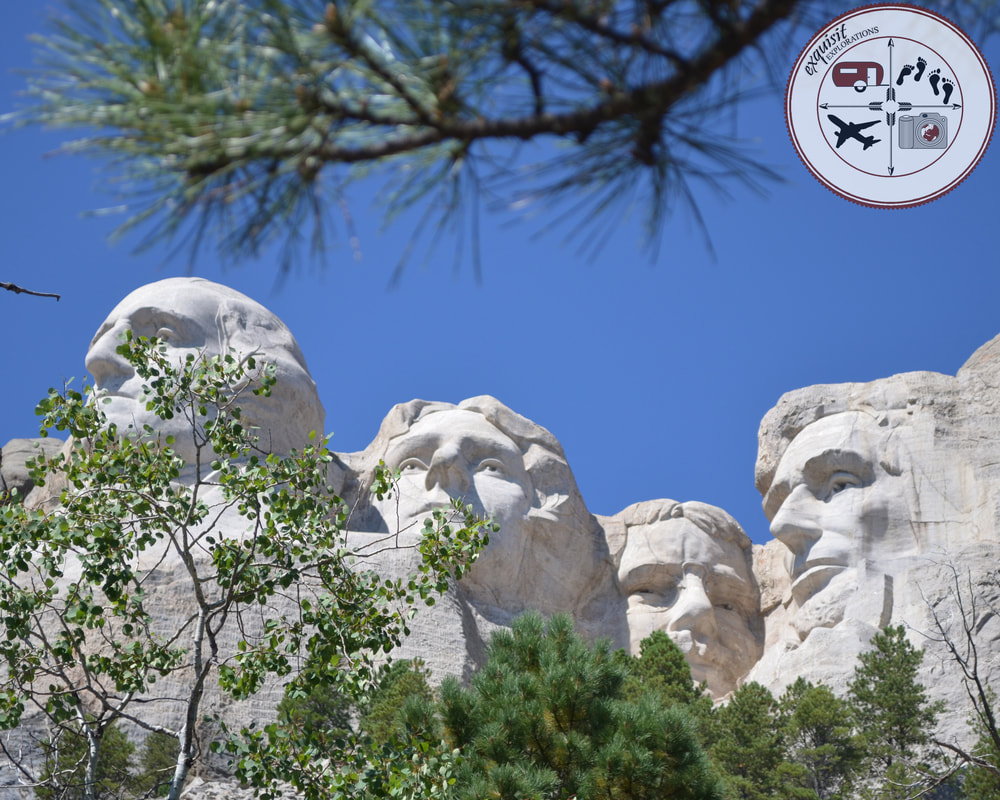 The Presidents of Mount Rushmore: Washington, Jefferson, Roosevelt, Lincoln, South Dakota Itinerary, Ultimate South Dakota Road Trip, Road Trip Through South Dakota, Travel USA, Explore America