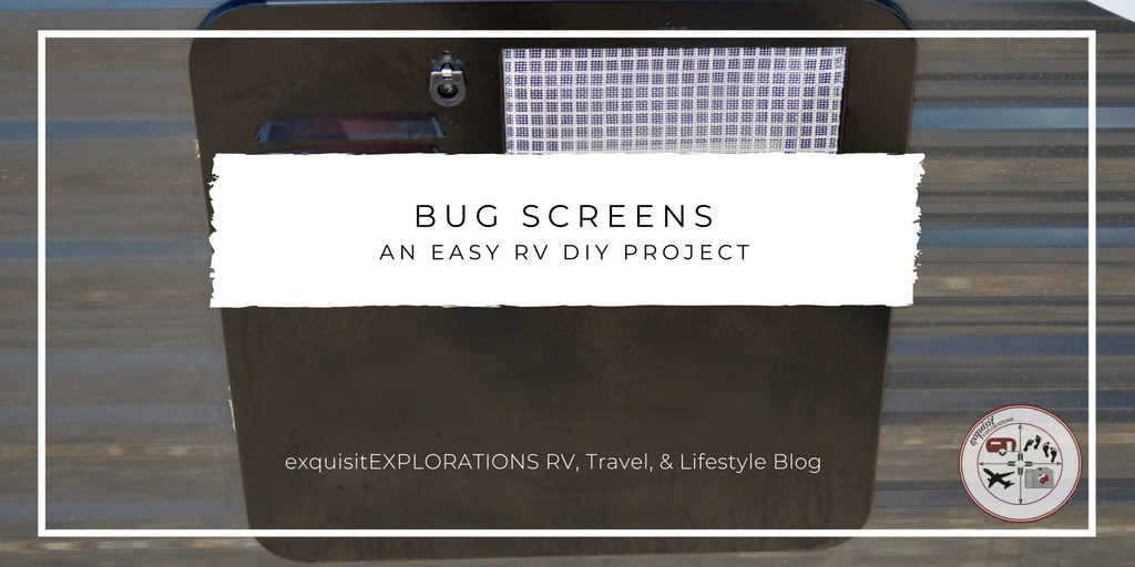 insect screen #DIY #bugscreen #RVprojects #EasyDIY #pestcontrol