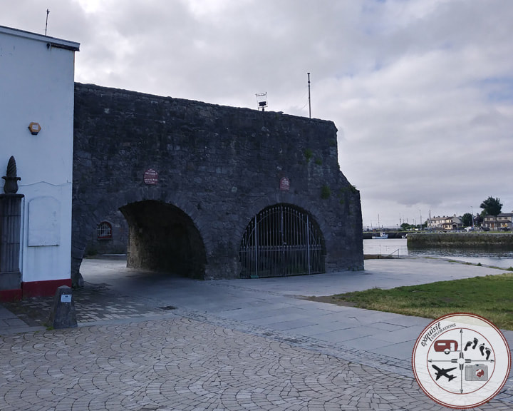 Spanish Arch, Galway, Ireland; exquisitEXPLORATIONS Travel Blog; Ireland Road Trip