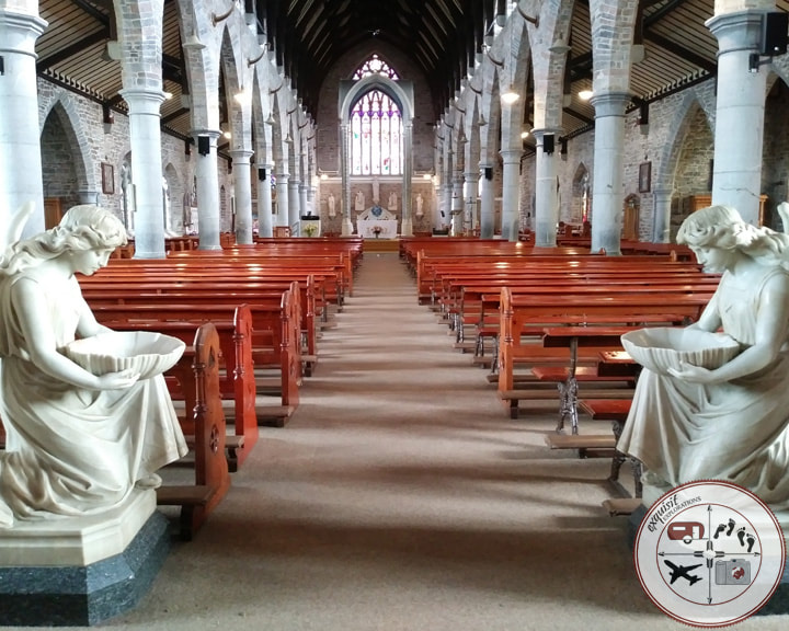 St John's Church, Tralee; places to go on your Ireland road trip